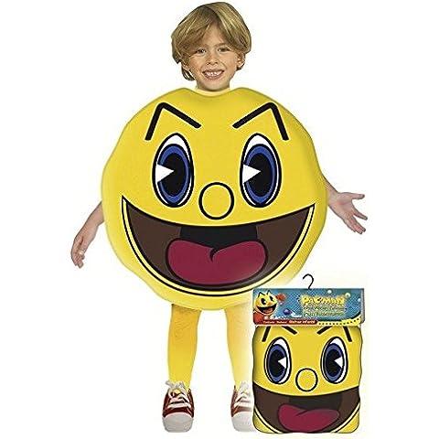 Pac-Man - Disfraz talla 3, 7/9 años (Josman)