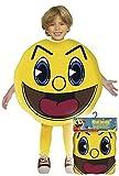 Pac Man - Disfraz talla 3, 7/9 años (Josman)