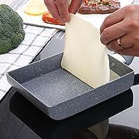 olayer Padella Frittata uova padella quadrata in alluminio antiaderente Multi