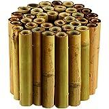 Gardman 09270 - Delimitador de bordes para jardín (bambú)