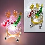 (706) LED Fensterbeleuchtung mit Saugnapf Weihnachtsbeleuchtung Fenster NEU (Elch)