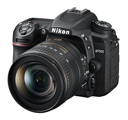 Nikon D7500 KIT AF-S DX 16-80 mm 1:2.8-4E ED VR Digitalkamera, 20,9MP CMOS-Filter ohne Optischen Tiefpassfilter schwarz Hi-definition-digital-video