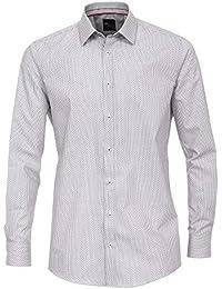Venti Herren Businesshemd 162613700 Kentkragen tailliert Baumwolle Slim Fit