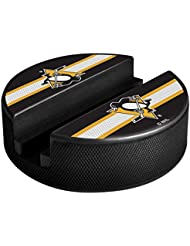 Sher-Wood de Wood Pittsburgh Penguins NHL Puck Media Device Holder