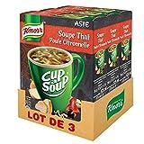 Knorr Cup A Soup Soupe Thaï Poule Citronnelle 36 g - Lot de 3