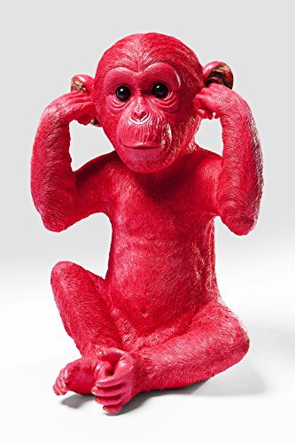 Kare Spardose Monkey Kikazaru red Affe (Designs Monkey Red)