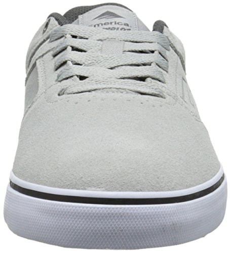 Emerica The Reynolds Low, Chaussures de skateboard homme Light Grey/Black