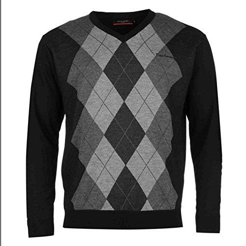 pierre-cardin-maglione-uomo-black-charcoal-xx-large