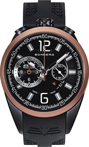 Bomberg NS44.0092 - Reloj Cronógrafo Para Hombre, color Negro/Negro
