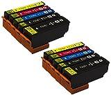 10 Druckerpatronen Kompatibel zu Epson Multipack 33 XL T3351 T3361 T3362 T3363 T3364 (mit Chip und Füllstandsanzeige) für Epson XP-530, XP-540, XP-630 Series, XP-635, XP-640, XP-645, XP-830, XP-900