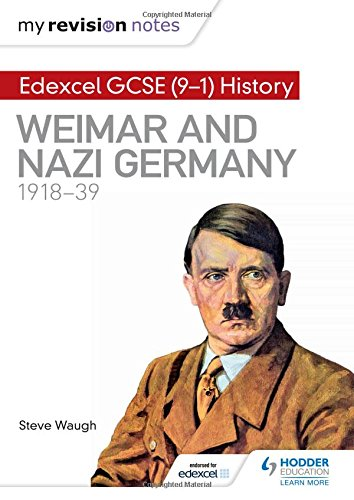 Price comparison product image My Revision Notes: Edexcel GCSE (9-1) History: Weimar and Nazi Germany,  1918-39