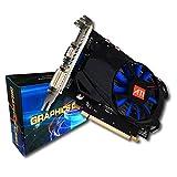 Swiftswan R7-350 Grafikkarte für Desktop 4G GDDR5 128bit HDMI & VGA & DVI Unterstützung 4K