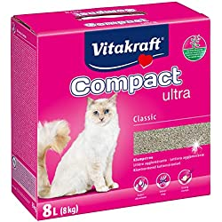 Vitakraft 14031 Litière Compact Ultra chat 8 kg