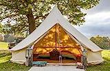 Bell Tent Boutique - Tienda de campaña (5 m, con Orificio para Estufa)