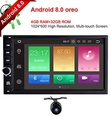 Freeauto Android 8.0 Autoradio GPS Universal 2 Din 7 Pulgadas (Octa Core,...