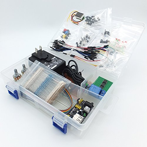 555-timer-schaltungen (Starter-Elektronik-Kit: Proto-Kit mit 12-V-Stromversorgung (EU / UK), Sensoren und Fahrtreppenkomponenten)