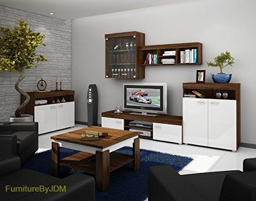 TV Wohnwand, TV-Tisch Set, Wohnzimmer Set