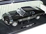 Ford Mustang 1970 Boss 429 Coupe Schwarz Oldtimer 1/18 Motormax Modellauto Modell Auto