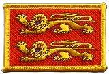 Digni Écusson brodé Flag Patch France Basse Normandie - 8 x 6 cm