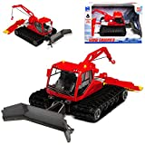 New Ray Pistenbully Raupe mit Funktionen Rot 1/50 Modell Auto