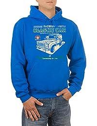 Youngtimer Landi Oldtimer Auto Herren Kapuzen-Sweatshirt