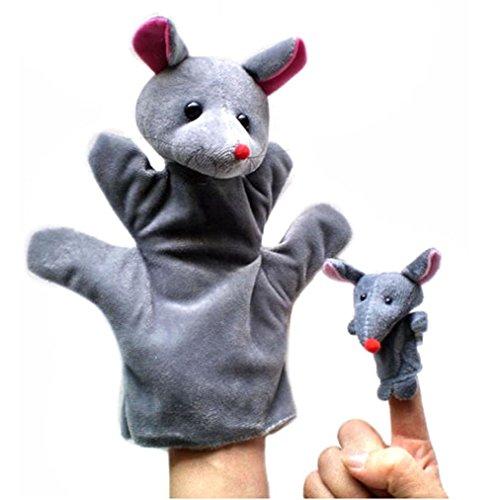 Títeres Dedos, K-youth® 2 PCS Juguete Marioneta