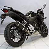 Auspuff Bodis P-Tec II Slip-On Stahl schwarz Honda CB 500 F ABS PC45 13-15