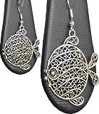 #10: Buy Silver Color Designed Jumka Earring Online (German Silver)