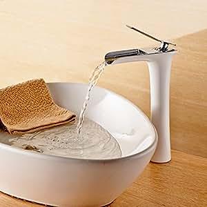 Gimili miscelatore bagno rubinetti cascata cromato per lavabo lavello fai da te - Miscelatori bagno economici ...