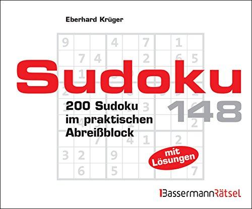Sudoku Block 148: 200 Sudoku im praktischen Abreißblock