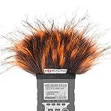 Gutmann Microfono protezione antivento pelo per Zoom H4n / H4nSP / H4n Pro modello speciale limitato FIRE