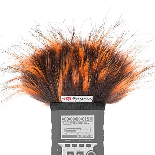 Gutmann Mikrofon Windschutz für Olympus LS-P1 / LS-P2 / LS-P4 Sondermodell FIRE limitiert -