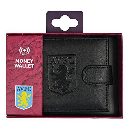Aston Villa FC RFID geprägter Leder Geldbeutel (One Size) - De Tiempo Del Villa