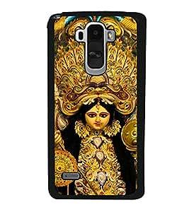 ifasho Designer Back Case Cover for LG G4 Stylus :: LG G4 Stylus H630D H631 H540 (Durga Puja Pandal Spiritual Warfare China West Bengal)