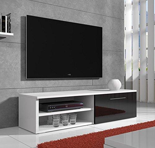 Lettiemobili –Mobile TV modello Danao bianco e nero 100cm