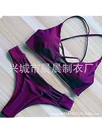 gk-europa y la cuerda dividido dos ulteriori traje de baño bikini para mujer