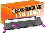 Gorilla-Ink® 1 Toner-Patrone XXL Magenta kompatibel für Samsung CLT-M4072S CLP 325 W CLX 3180 CLX 3185 CLX 3185 FN