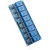 Elegoo Módulo Relé de 8 Channel DC 5V con Optoacoplador para Arduino UNO R3 Kit MEGA 2560 Proyecto 1280 DSP ARM PIC AVR STM32 Raspberry Pi
