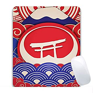 Blisfille Mauspad Gummi & Stoff Neues Jahr Muster Multicolor 240X200X3mm Gaming Mauspad Mousepad Fjf
