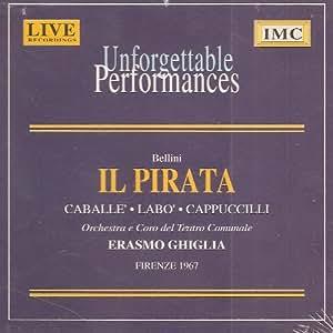 Bellini;Il Pirata