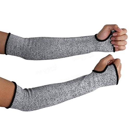 Schnittfeste Sicherheitshandschuhe mit Armschutz zum Schutz vor Schnitten, Sicherheits- und Schutzausrüstung, 1 Paar schnittfeste Handschuhe