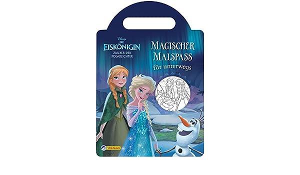 Disney Die Eiskönigin Zauber Der Polarlichter Magischer Malspaß Für