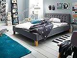 Polsterbett Einzelbett Jugendbett Bett Doppelbett Stoff