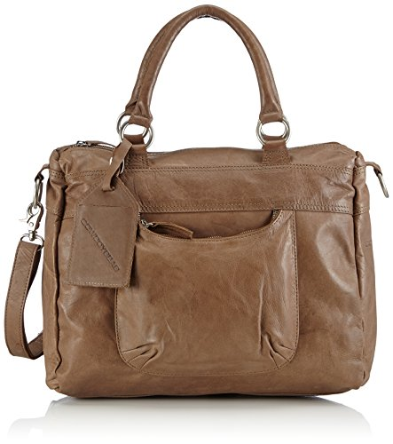 Cowboysbag  Bag Londonderry, sacs à main mixte adulte Marron - Braun (Mud 560)