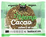 Kookie Cat Hemp seeds and caocao, Organic vegan cachew/oat cookie, 12er Pack (12 x 0.05 kg)