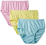 #9: Jockey Women's Cotton Hipster (Pack of 3) (Colors may vary)