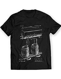 DTG Printing Cold Air Pressure Cerveza Patentar Camiseta 100% Algodón