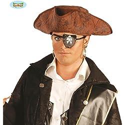 Sombrero unisex para pirata de alta mar.