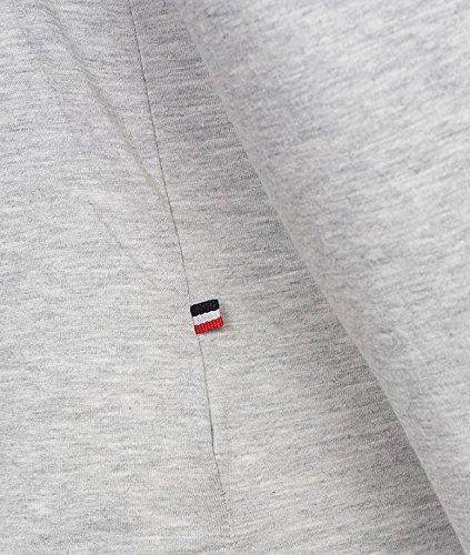 Tommy Hilfiger Herren Langarmshirts T-Shirts Grau
