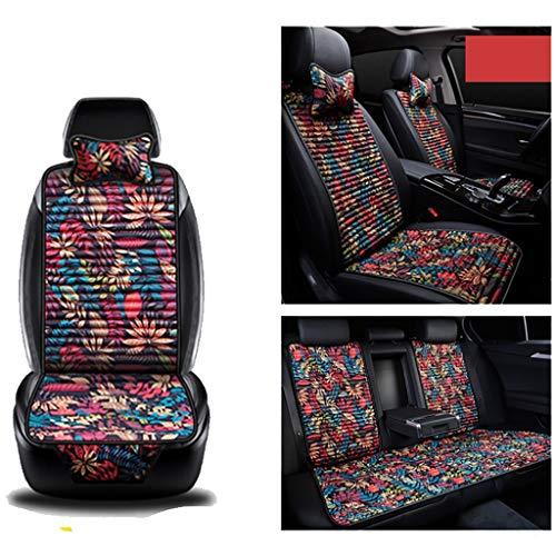 XX Auto Sitzbezug Kissen Massage, Kühle Matte Oxford Tuch Vier Jahreszeiten Universal Passt Autositz Maßgeschneiderte Jeep (größe : Jeep - Wrangler) (Jeep Wrangler Auto-sitzbezüge)
